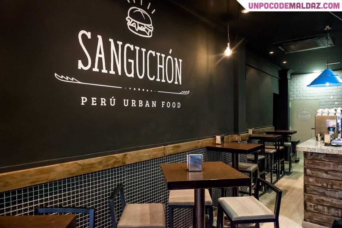 Restaurante Sanguchón. Calle de Hartzenbusch, 7
