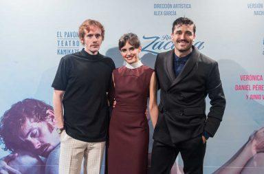 Alex García, Verónica Echégui y Dani Pérez Prada El Amante Zacapa