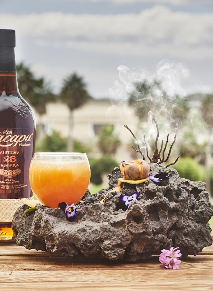 Guayota, cóctel homenaje al Teide