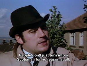 scots monty python