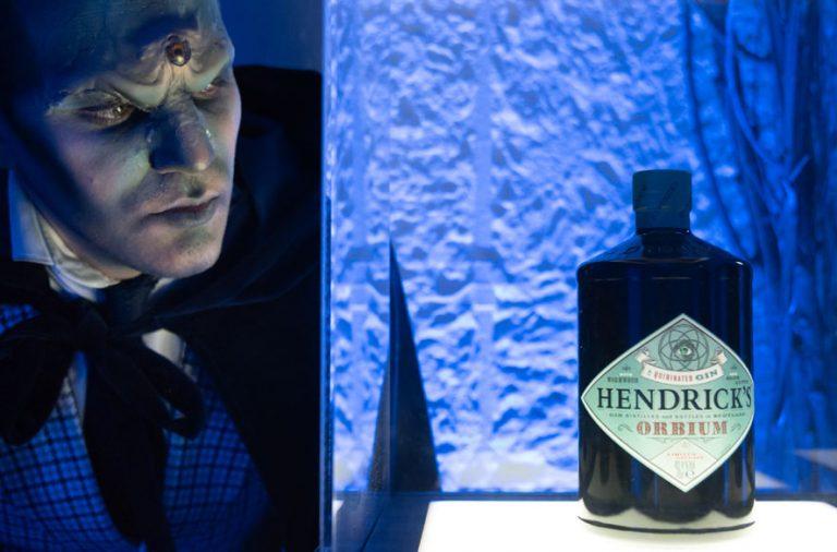 Orbium ginebra Hendrick's