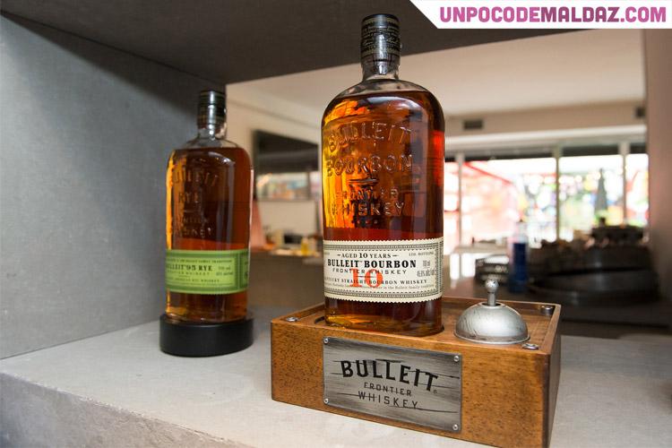 Tom Bulleit fundador de Bulleit Bourbon con Diego Guerrero
