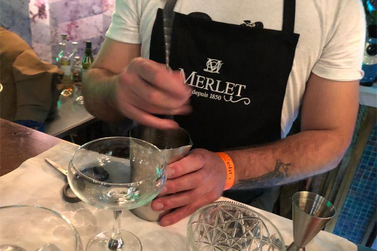 Merlet-borja triñanes