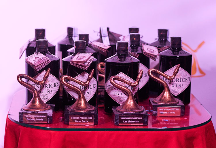 Hendrick's premios Yago