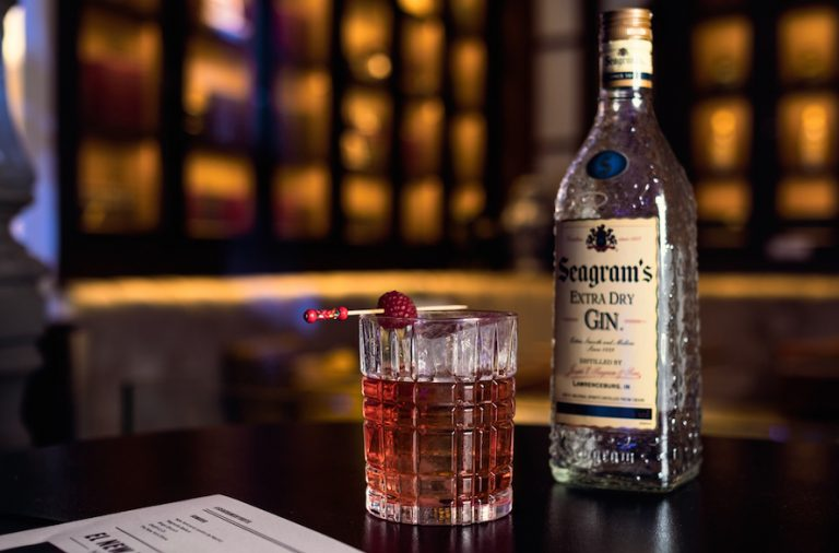 seagram's new york NEGRONI