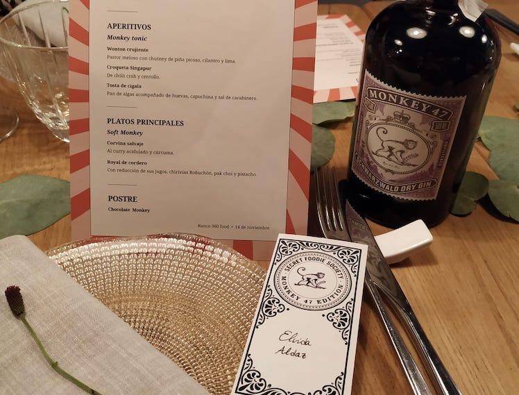 menu monkey 47