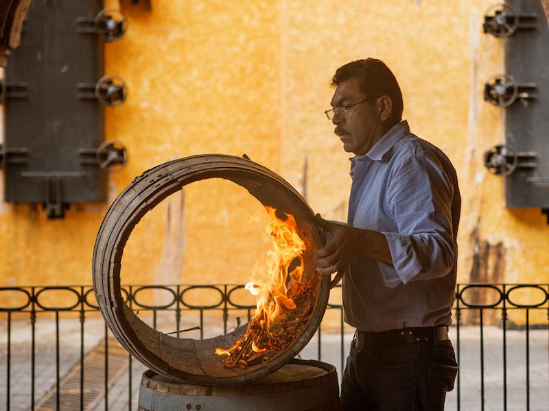 Man-Barrel-Toasting-Rojena