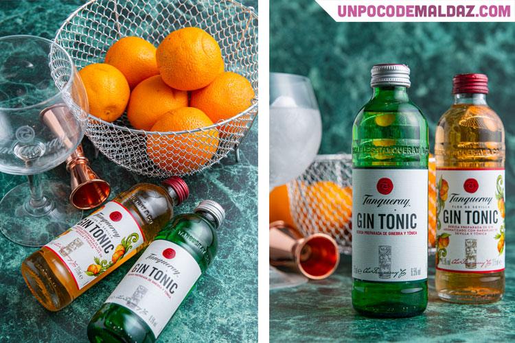 tanqueray gin tonic