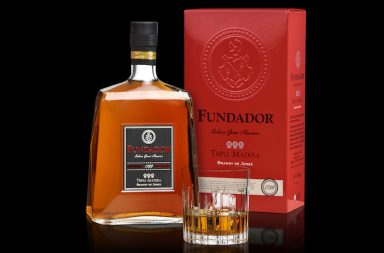 brandy Fundador Triple Madera