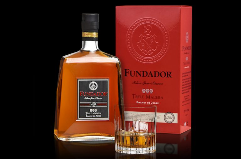 brandy Fundador Triple Madera